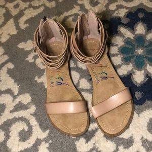 Shoes - Blowfish strapping sandals NWOT